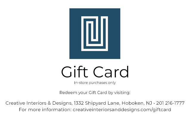 buy interior design e gift cards online