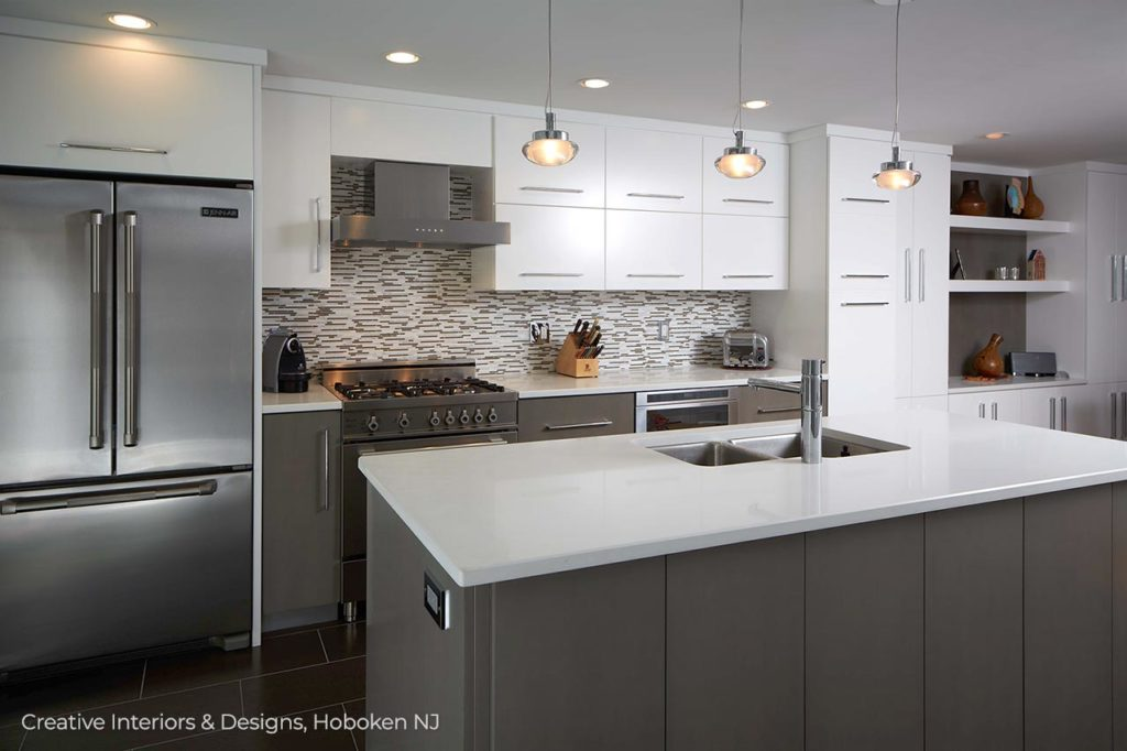 Modern Kitchen Remodel Ideas Creative Interiors Designs Hoboken Nj